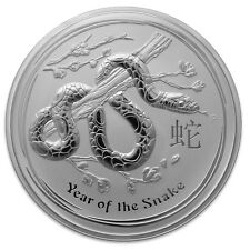 2013 Australia 1 oz Silver Lunar Snake (from mint roll)