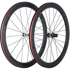 SUPERTEAM DT350 Hub 50mm Tubeless Carbon Wheel Inner Nipple Carbon Road Wheelset