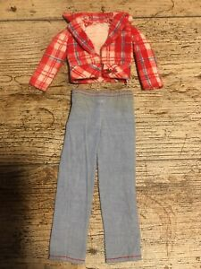 vintage barbie # 7702 Best Buy Fashion Get Ups N Go  Camping