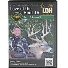 LOVE OF THE HUNT - Best Of Season 3 - Outdoor Edge DEER HUNTING DVD NEW/SEALED