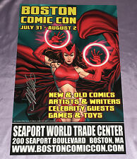 BOSTON COMIC-CON~EXCLUSIVE ART PRINT~SCARLET WITCH/AVENGERS~SIGNED BY FRANK CHO~