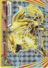 POKEMON BLACK STAR PROMO CARD: ARCANINE BREAK - XY180 - RARE HOLO