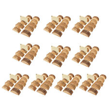 90pcs Wooden Table Number Cards Place Name Card Stand Holder Party Decor