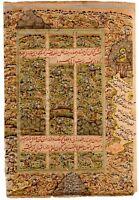 Hunting Scene Of Mughal Miniature Painting On Paper Home Decor Islamic Art