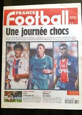 FRANCE FOOTBALL 18/09/1998 n°bis; Ligue des champions/ Coupe de l'UEFA