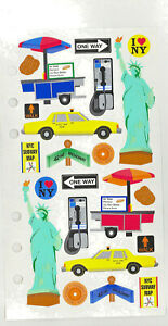 New York City Travel Stickers