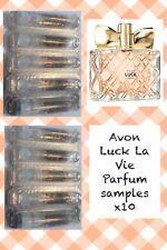 Avon Luck La Vie Samples X10