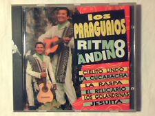 LOS PARAGUAIOS Ritmo andino cd RARISSIMO COME NUOVO VERY RARE LIKE NEW!!!