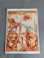 T) Postcard Military Large Format 12 ° Genius Palermo 1941