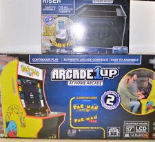 Arcade1UP Pacman Machine Arcade Cabinet w/ LCD Display Pac-man Retro + NEW Riser