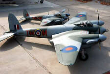 Giant 1/4 scale D.H.98 MOSQUITO PR.XVI scratch build R/c Plane Plans 162 in. WS