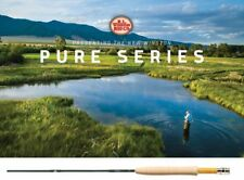 "NEW WINSTON PURE 8'0"" FOOT #4 WEIGHT 4 PIECE FLY ROD FREE $100 FLY LINE"