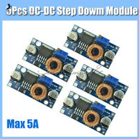 5PCS XL4015 DC-DC Step Down Max 5A Adjustable Power Module Lithium Charger board
