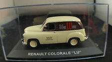 "Kiosque ◊ Renault Colorale ""LU"" ◊1/43 ◊ en boîte / boxed"