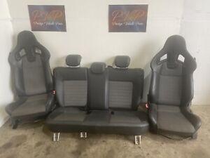 VAUXHALL CORSA D VXR RECARO HALF LEATHER BUCKET SEATS FULL INTERIOR