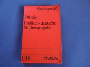 Othello Englisch - deutsche Studienausgabe Dt. Prosafassung Shakespeare Klassike