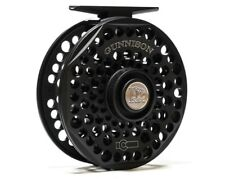 Ross Gunnison Fly Reel - Size 4/5 - Color Black - NEW - FREE FLY LINE