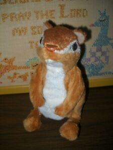 FR Fur Real CHIPMUNK / SQUIRREL Interactive Hasbro MOVES, CHIRPS, ANIMAL SOUNDS
