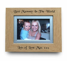 Mother's Day Wooden Rectangle Photo & Picture Frames