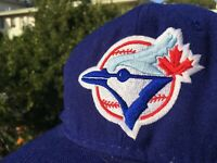 Vintage 90s Sports Specialties Toronto Blue Jays MLB Fitted Hat 7 1/4 new era