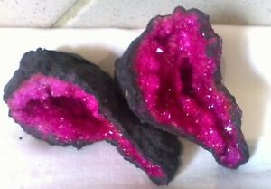 Quarz Druse Geode Marokko Pink