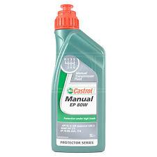 Castrol Manual EP 80W Gear Oil EP80W Extreme Pressure Multi-Purpose 1 Litre 1L