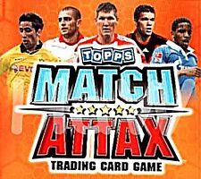 Topps Match Attax 10/11- Update Base Cards Set 36 Cards