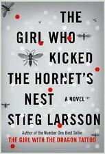 GIRL WHO KICKED THE HORNET'S NEST ~  #3 IN TRILOGY ~ STEIG LARSSON ~ 1st PRNT HC