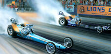 "Art ""SNAKE vs MONGOOSE Chapter 1"" Don Prudhomme Tom McEwen Top Fuel Lions 64 65"