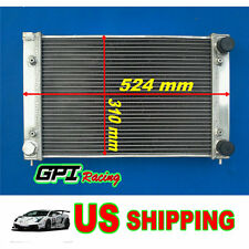 For Aluminum Radiator VW GOLF GTI,JETTA MK2/Corrado,Scirocco Coupe 1.8V 86-95
