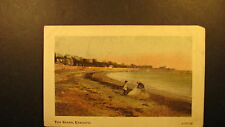 The Beach, Exmouth, about 1910 unused postcard