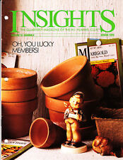 1992 goebel Collector's club Insights Magazine volume 15 number 4 spring