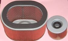 Air & Oil filter for Honda GL GL1200 Goldwing Aspencade & Interstate models