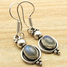 925 Silver Plated Labradorite Earrings ! Online Store ! Price Start From $0.99