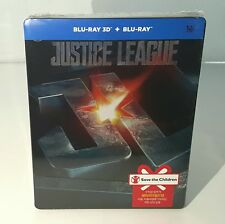 Justice League [3D +2D] Blu-ray Steelbook [Korea] Oos/Oop