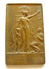 y003 Austria Hungary VI Congress of Penitentiary 1905 Budapest bronze Medal