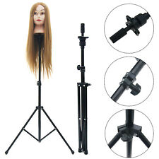 Metal Tripod Adjustable Mannequin Head Holder Hairdressing Training Stand New
