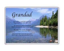 Personalised Grandad Fridge Magnet Birthday Present Christmas Fathers Day Gift
