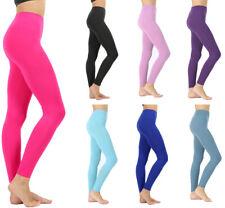 Womens Classic Seamless Long Leggings Nylon Line Detailing Regular Plus Sizes