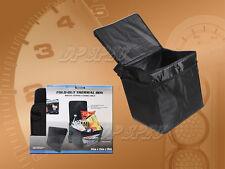 FULL THERMAL PADDING FOOD CARRIER CONTAINER BIN BASKET BAG BOX ZIPPER ORGANIZER