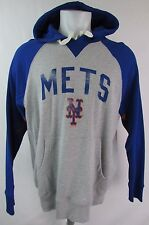 New York Mets Men's Large Pullover Hooded Sweatshirt by Hands High MLB