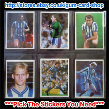 ☆ Daily Mirror 1986-87 Stick With Soccer (Teams S to W) *Please Select Stickers*