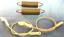 PAIR 2X Two Frigidaire Dishwasher Door Spring + Cable OEM 154579101 154578801