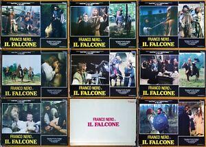 set 8 fotobuste film BANOVIC STRAHINJA - IL FALCONE Franco Nero Dragan Nikolic