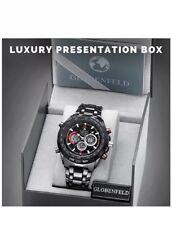 Globenfeld Super Sport 2.0 Mens Watch - Chronograph Quartz, Analogue/Digital Dis