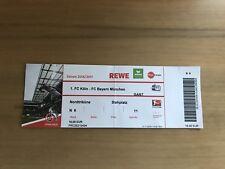 Sammler Ticket 1. FC Köln - FC Bayern München 04.03.17 FCB