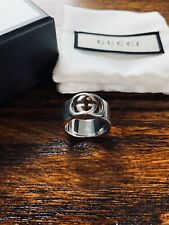 Gucci Interlocking G Ring - Size 19 ( US Size 8.75)