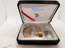 AXON V163 Digital Hearing Aids Aid Behind The Ear Sound Amplifier Adjustable Kit