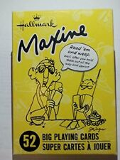 Hallmark Maxine Deck of 52 Big Playing Cards Read Em And Weep