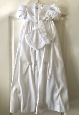 Couture by Cinderella 2 Piece Christening Baptism White Size 9 Months NWT